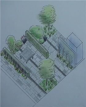 example of a 3D sketch